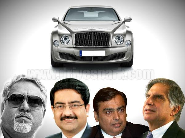 Indian Businessmen And Their Cars