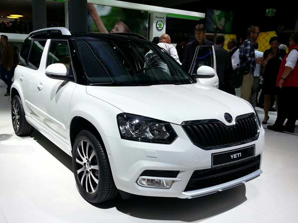 Which Type Changes 2014 Skoda Yeti Facelift
