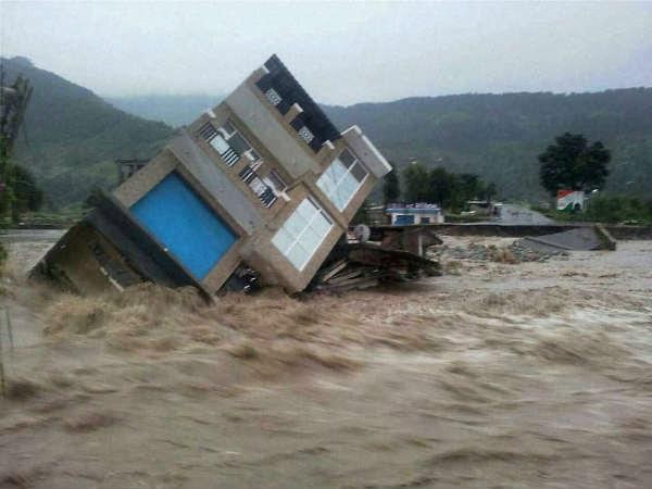 Flood Situation Jammu Kashmir Pics