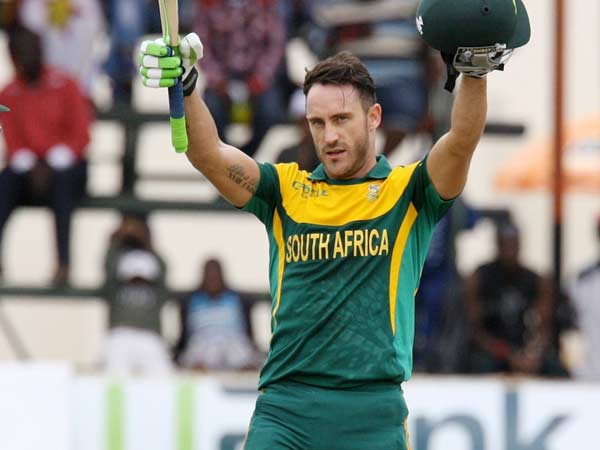 Plessis Surpasses Sachin S Record Most Run A Series