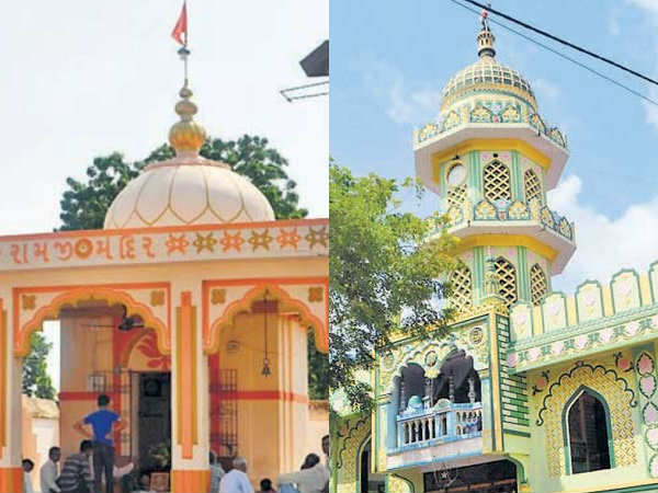 Saladara Village Of Gujarat Decided Remove Loudspeakers From Temple And Mosque