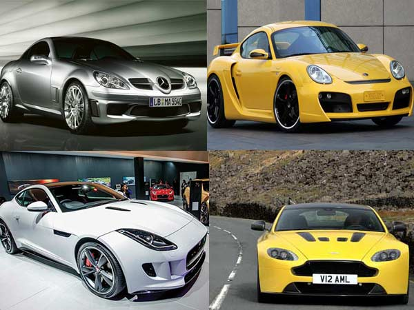 India S Top 5 Sportscars