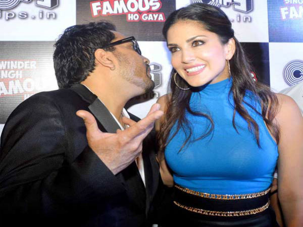 Is Mika Singh Desperate To Kiss Sunny Leone