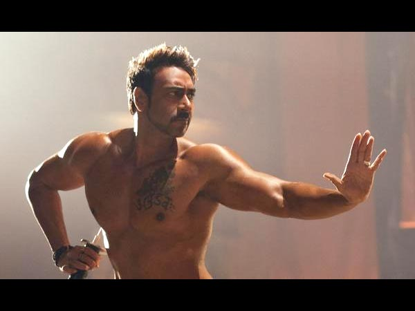 First Look Revealed Shirtless Ajay Devgn Action Jackson