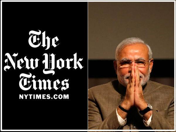 Why New York Times Tries To Malign Our Narendra Modi S Us Visit