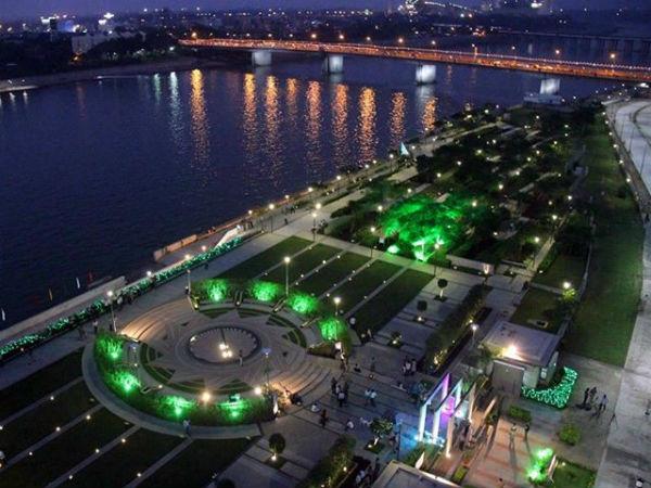 Photo Ahmedabad Sabarmati Riverfront Is Ready To Welcome Pm Narendra Modi Xi Jinping