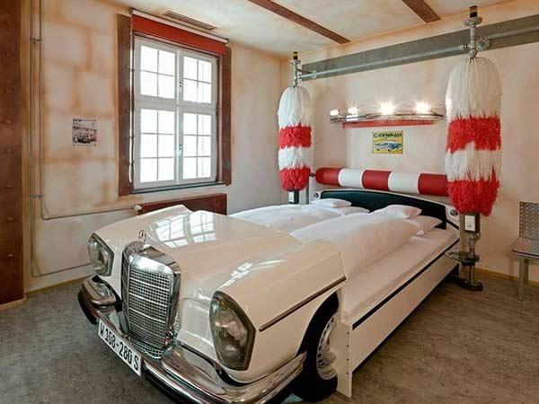 Car Theme Based Hotel Germany
