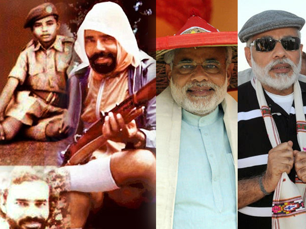 Birthday Special Modi S Different Look Pics