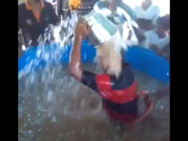 This Is The Record Breack Ice Bucket Challenge Watch Video