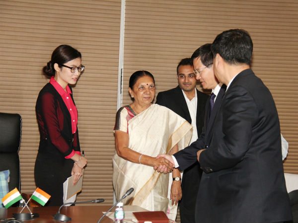 Gujarat Cmo S Special Cell To Prepare Follow Up Gujarat China Mou S Blueprint