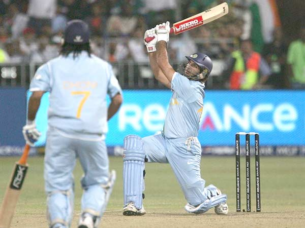 Years Ago Yuvraj Hit Six Sixes One Over Against England T