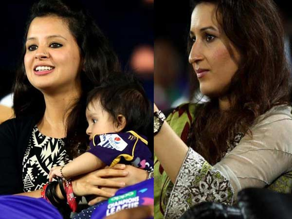 Champions League T20 Cricketers Wife Came Watch Match