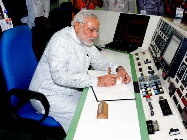 Modi Witness Mangalyaan Insertion