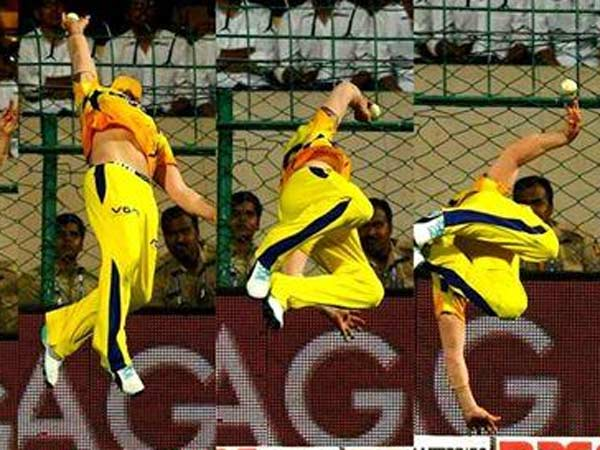 Video Photo Superman Brendon Mccullum Defies Gravity