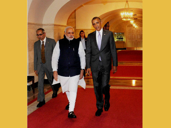 Photo Indian Pm Narendra Modi Stunning Hot Dressing Style From India Arrived New York