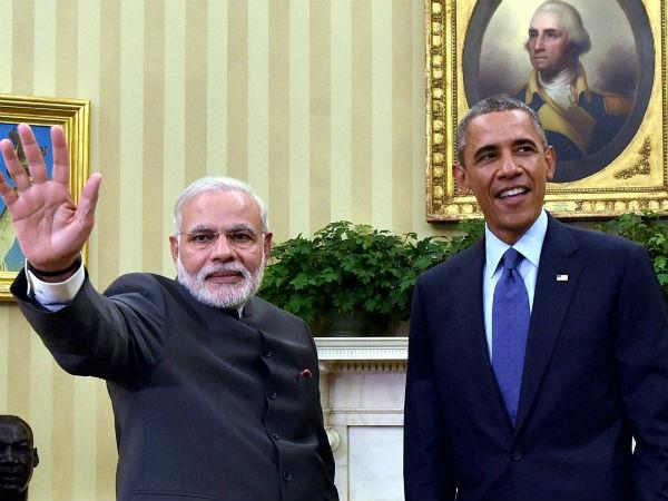 Modi Obama Bond Over Political Banter Issue Expansive Vision Statement