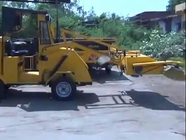 Gujarati Make Sweeper Machine Cleaning