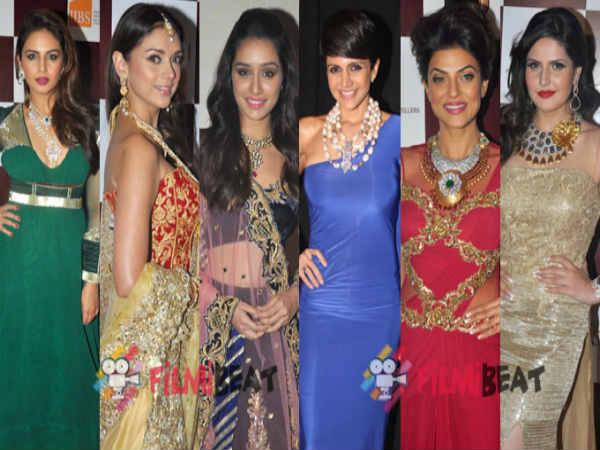 Sushmita Shraddha Zarine Huma Aditi At Ibja Fashion Show