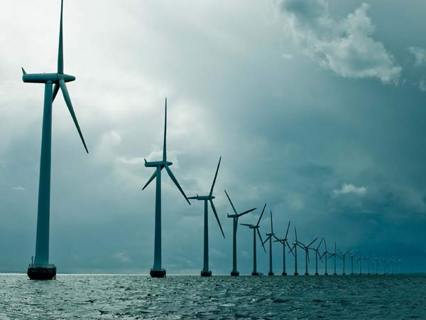 India S First Offshore Wind Power Plant Come Up Gujarat