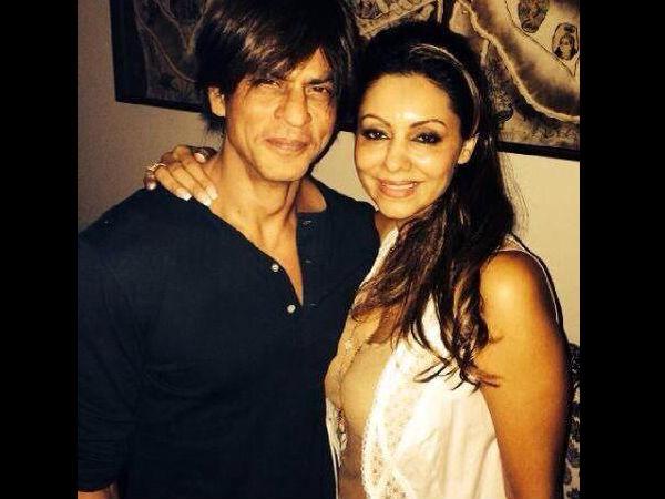 Shahrukh Khan Wife Gauri Khan Birthday Party Pics