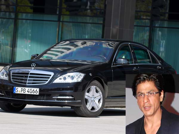 Shahrukh Khan Buys Bombproof Mercedes Benz Car 1 6 Million