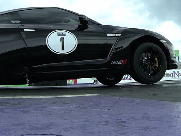 Modded Nissan Gt R Sets New Quarter Mile Record