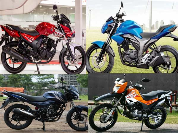 Bajaj Discover 150 S Vs Yamaha Sz Rr Vs Suzuki Gixxer 150 Vs Hero Impulse