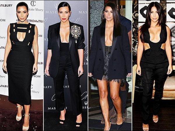 Birthday Girl Kim Kardashian The Cleavage Show Star