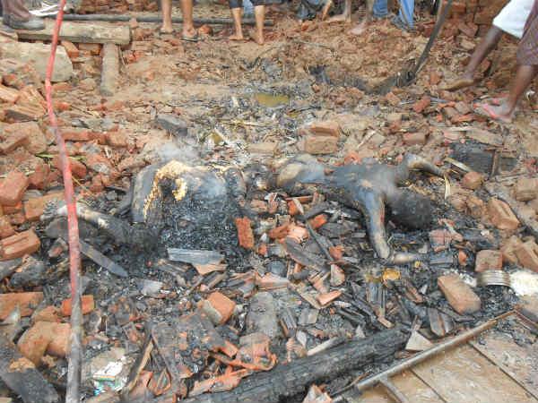 Fire At Cracker Factory In East Godavari In Andhra Pradesh 12 Dead