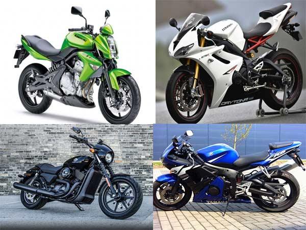 Kawasaki Er 6n Vs Harley Davidson Street 750 Vs Triumph Daytona 675r Vs Yamaha Yzf R
