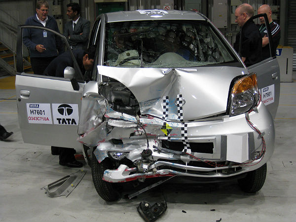 Indian Cars To Face Crash Tests