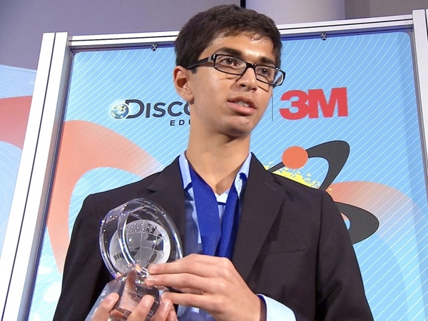 Indian American Student Wins Top Young Scientist Award