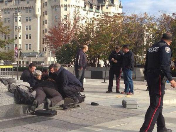 Canada Attacks Shots Fired Inside Parliament One Suspect Among Two Dead