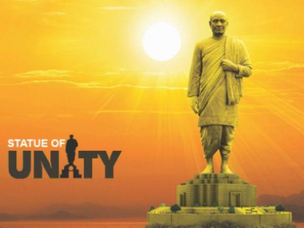 L T Build Rs 2 989 Crore Statue Unity 4 Years Gujarat Cm