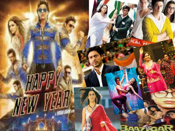 Farah Khan Copies Shahrukh Khan Scenes Happy New Year
