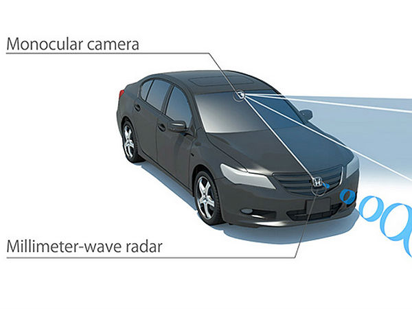 Honda To Introduce New Driving Aid Called Honda Sensing