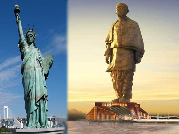 This Is Similarity Between Statue Unity Liberty