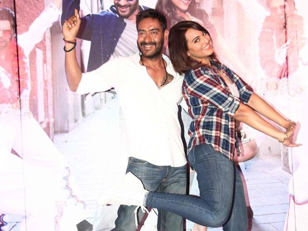Keeda Song Launch Action Jackson Ajay Devgn Sonakshi Sinha