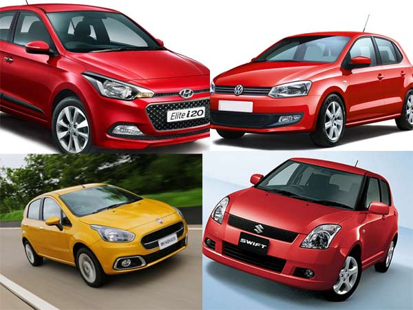Comparison Elite I20 Vs Fiat Punto Evo Vs Volkswagen Polo Vs Maruti Swift