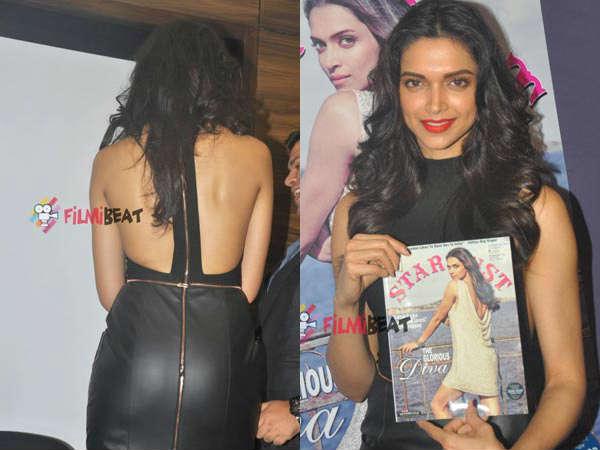 Gorgeous Deepika Padukone Unveils Stardust Cover