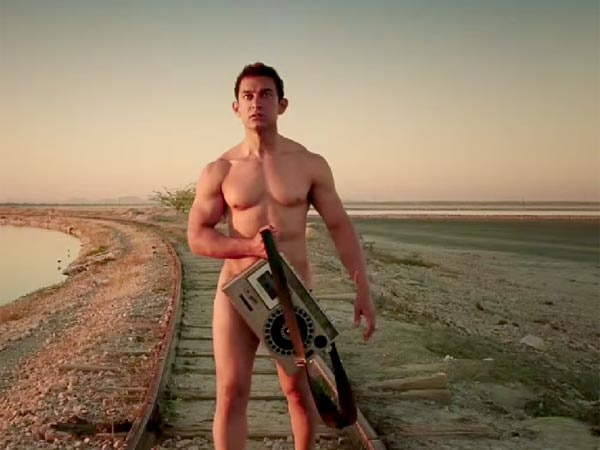Different Unique Looks Sported Aamir Khan In Pk Movie