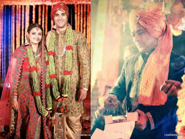 Pics Salman Khan Sizzles Marraige Ceremony Pulkit Samrat