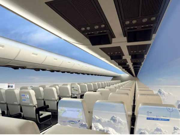 Windowless Planes Hit Skies Next Decade