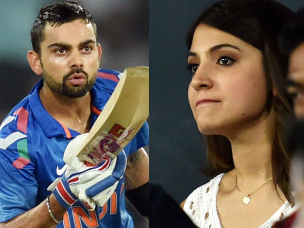 Virat Kohli S Flying Kiss Anushka Sharma