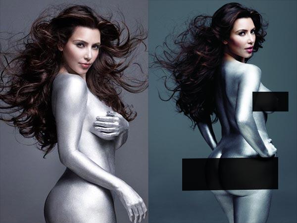 Kim Kardashians Most Racy Magazine Shoot Pics
