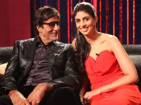 Big B Praises All Daughters Posts Deepikas Pics