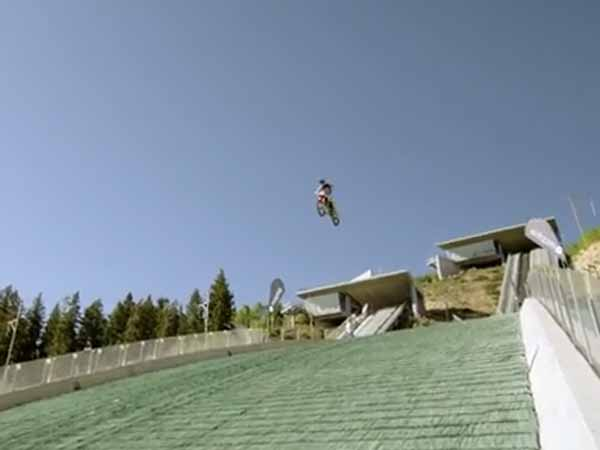 Robbie Maddison Attempts Vertical Drop World Record