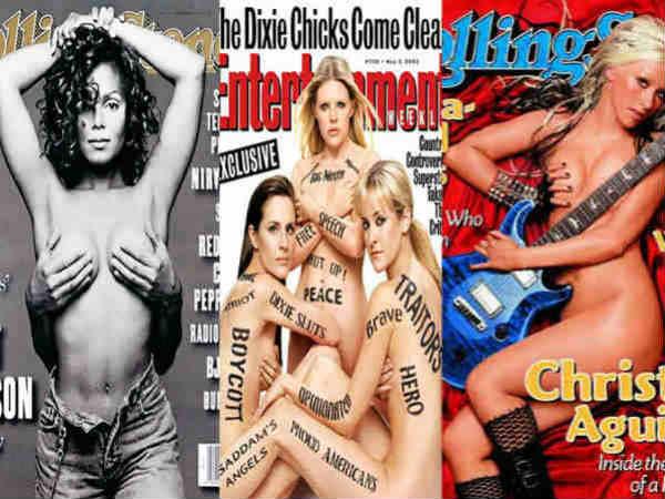 Controversial Magazine Photos Kim Kardashian And More
