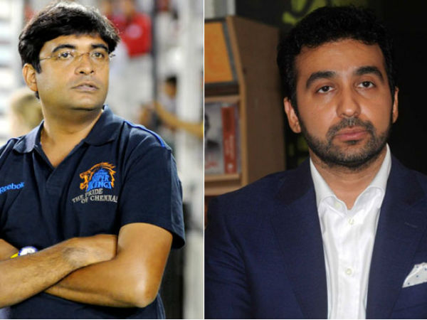 Ipl Spot Fixing Hearing Meiyappan Raj Kundra Named In Mudgal Committee Report