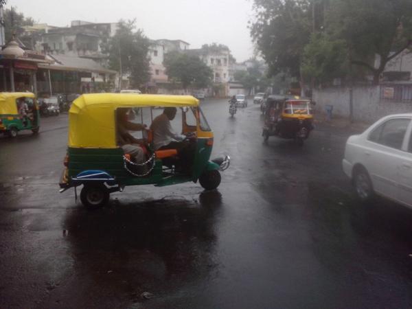 Heavy Rain Ahmedabad Rajkot Amreli